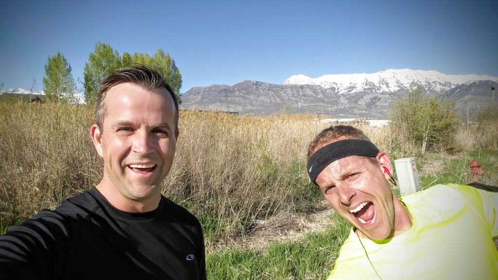 Andrew and Curtis 3 Mile Run